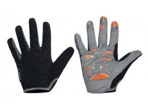 Cyklistické rukavice KTM Factory Team Long Black