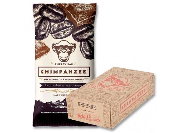 Tyčinka CHIMPANZEE ENERGY BAR Chocolate Espresso