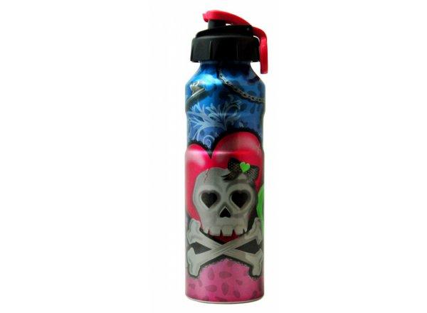 Alu láhev Cool Gear Girly Skull