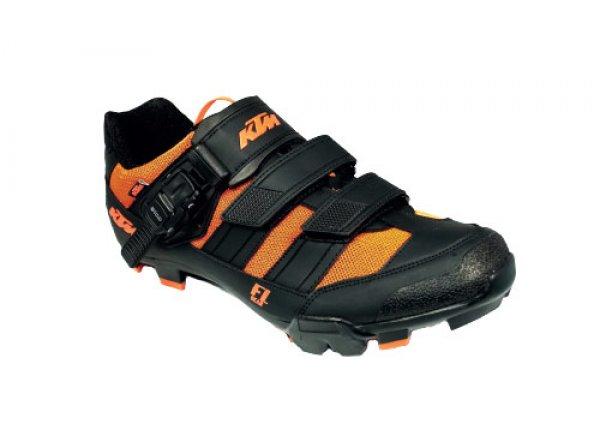 Cyklistické tretry KTM Factory Line MTB II Black/orange