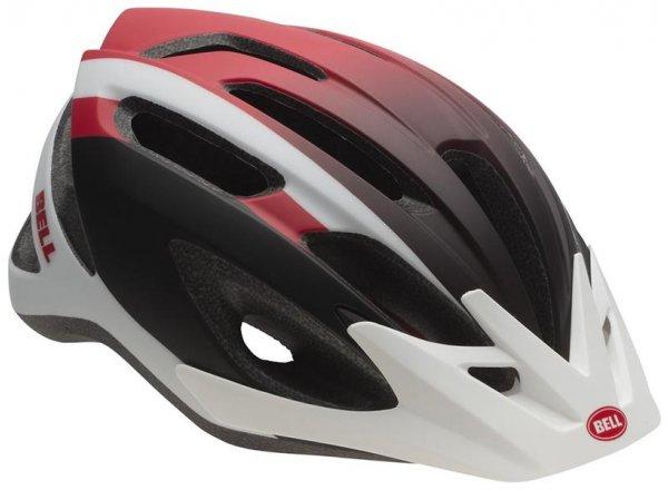 Helma na kolo Bell Crest Mat white/red/black