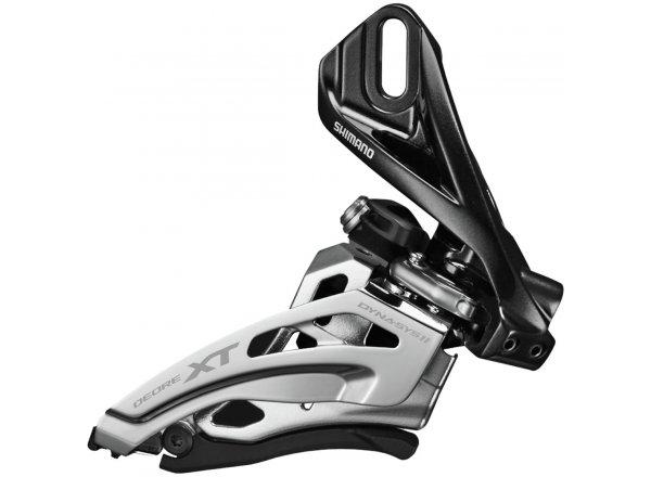 Přesmykač Shimano FD-M8000 3x11 návarka Black/silver