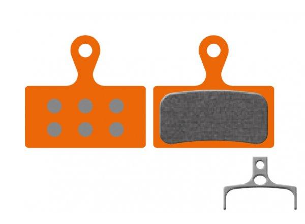 Destičky KTM pro Shimano Deore XT M785, SLX, M666, XTR 2011 M985 (1 pár) Orange