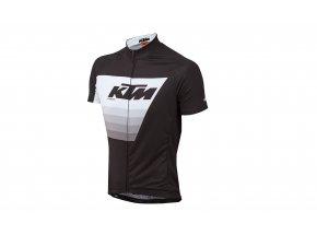 Cyklistický dres KTM Factory Line Black/white