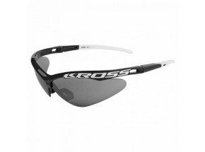 Cyklistické brýle KROSS DX-SPT 1 Black/white