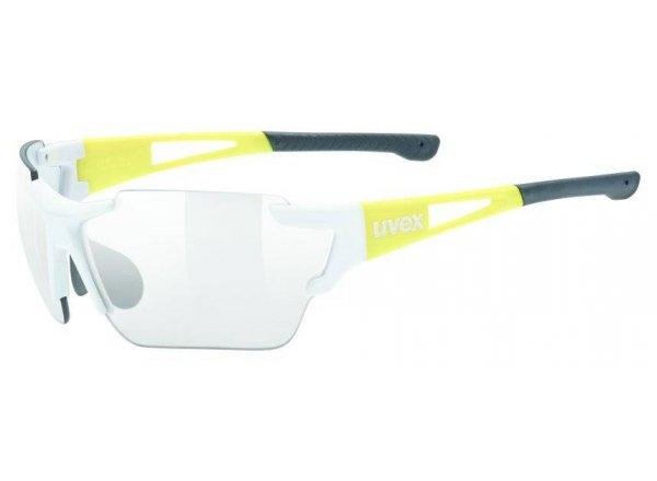Brýle UVEX Sportstyle 803 Race Vario White/yellow