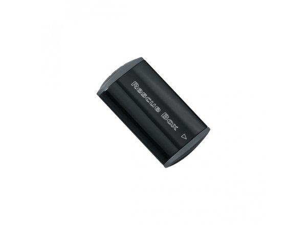 TOPEAK schránka RESCUE BOX + samolepící záplaty Black