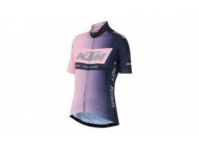 Dámský cyklistický dres KTM Lady Team Rose/eveblue