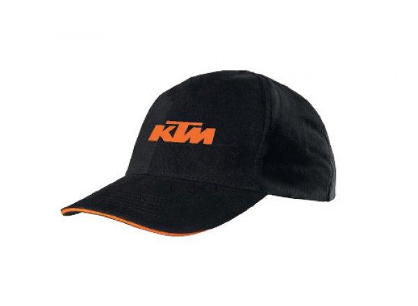 Kšiltovka KTM Cap 2021 Black/orange