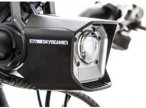 Přední světlo SkyBeamer 150 lumenů pro Yamaha Anthrazit