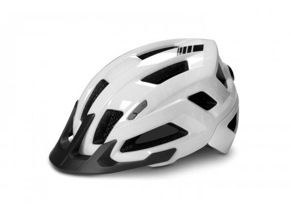 Helma na kolo CUBE STEEP White gloss
