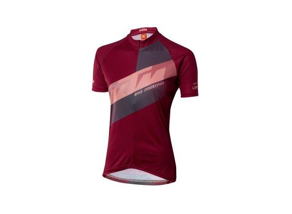 Dámský cyklistický dres KTM Lady Character 2021 berry coral