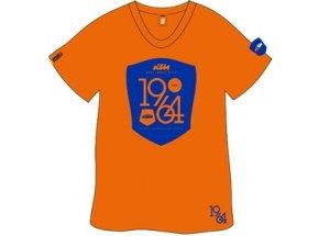 Tričko KTM 1964 emblem Orange/blue