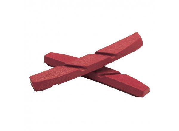 Brzdové gumičky RITCHEY Superlogic road brake (1 pár) Red