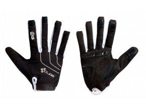 Dlouhoprsté rukavice CUBE WLS Natural Fit Lady Blackline
