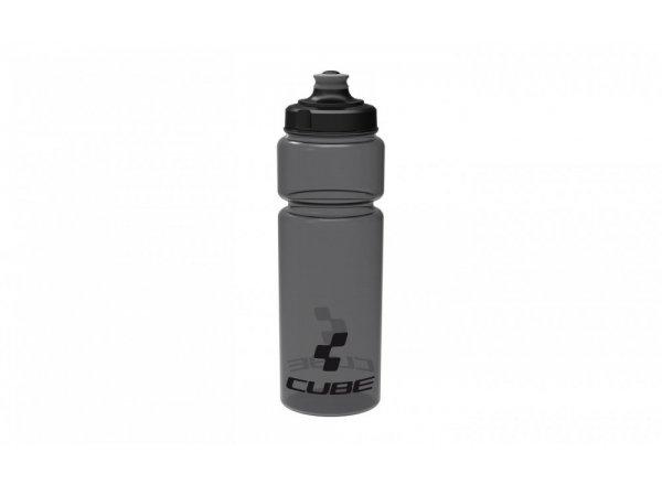Láhev CUBE Icon Black transparent