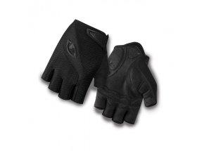 Cyklistické rukavice Giro Bravo Mono black